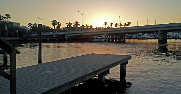 Catch the sunset at Bradenton Riverwalk photo by Christa Thompson